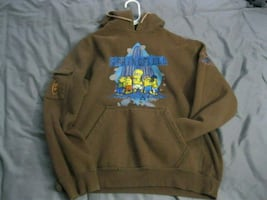 Simpsons Springfield Locals pullover hoodie, Small, 2007