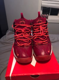 Air Pippen 1 Noble Red