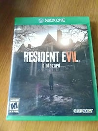 Xbox One Resident Evil game and case