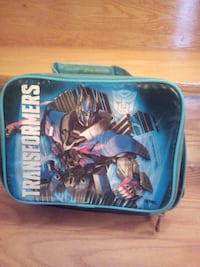 Kid's Transformers Thermos Lunch bag