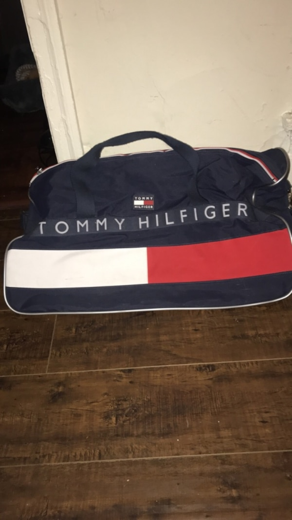 97c5cff4f1 Used Vintage Tommy Hilfiger duffle bag for sale in Los Angeles - letgo