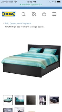 IKEA double/full bed frame for sale in great condition! Montréal, H3H