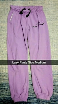 Medium Purple Lazy Track Pants Orillia