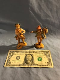 *Vintage figures -Made in and purchased in Italy