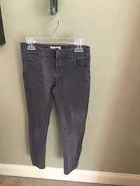 Girls size 11/12 gray H&M jeans Centreville, 20120