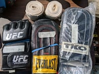 variety of sparring gloves and wraps Mississauga, L5G 1C3