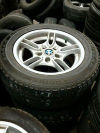 BMW rims and tires Calgary, T2K 5X2