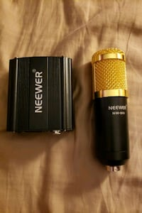 Neewer Condenser Mic + Phantom Power Source