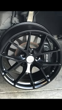 "Bmw 535i 325i 2012 Acura TL 19"" Blk new euro rims set"