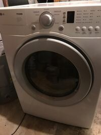 LG white front load dryer Clinton, 20735