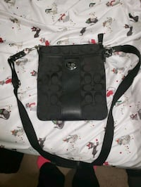 Black Coach Cross Body Bag Norfolk