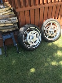 Motorcycle tire and rims Calgary, T1Y 6K1