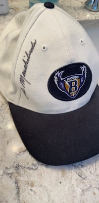 Ted Marchibroda signed Ravens hat Frederick, 21703