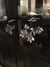 Lacquer boxes - mother of pearl inlay  Falls Church, 22042