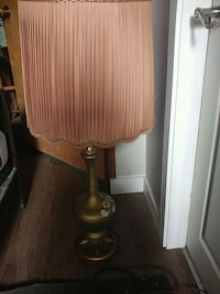 brown and white table lamp Regina, S4R 4C8