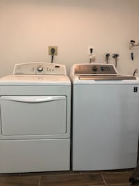 Electric kenmore dryer and ge washer  Arlington, 22202