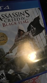 Assassin's Creed IV Black Flag PS4 game case Green Bay, 54302