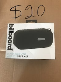 black wireless bluetooth speaker box Union City, 94587