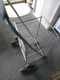 Three wheeled stair cart
