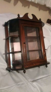 Mini Curio Cabinet for hanging or top of dresser Angus, L0M 1B2