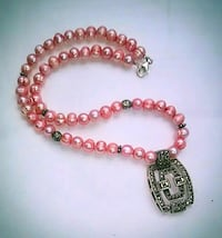Coral Pink Pearl Necklace Portland, 97216