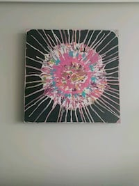 black and multicolored abstract painting Ottawa, K1V 8Z3