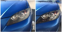 Car headlight restoration Calgary