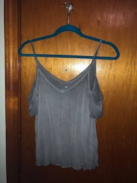 AE off shoulder tank, S Saugus, 01906