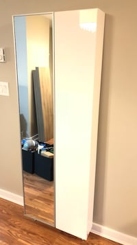 Shoe Cabinet with Full Length Mirror Burnaby, V5H 2P4