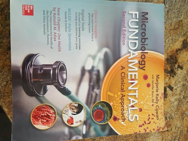 Used microbiology fundamentals book for sale in Saranac Lake