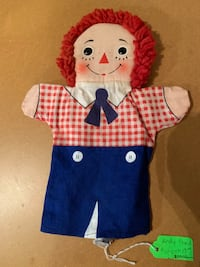 Raggedy Andy Puppet