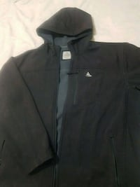 black The North Face zip-up hoodie 2673 km