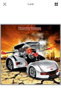 Transforming RC Missile Launcher Remote Control RaceCar Battle Toy