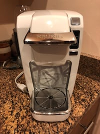 White Keurig Mini Coffeemaker Washington, 20018