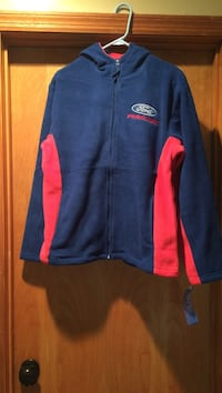 Ford racing fleece pullover new