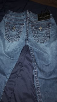 blue True Religion denim bottoms Inwood, 25428