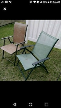 Old lawn chairs $10 FOR THE PAIR Edmonton, T6X 1J9