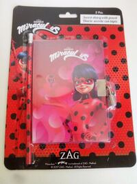 Set 2 ps lady bug miracolous Rosolini, 96019