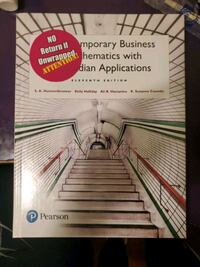 contemporary business mathematics with Candian applications