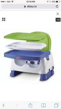Fisher price  healthy care booster seat King, L7B 0A3