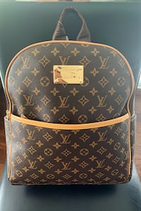 LV Leather Backpack (Mens&Womens)