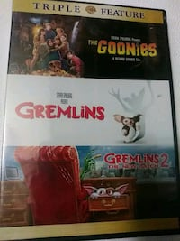Gremlins 1 and 2 and Goonies Triple feature dvd