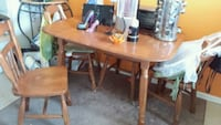 Solid wood kitchen table London, N6K