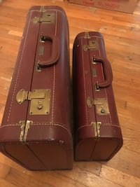 Brown leather Cape-May suitcases Norfolk, 23502