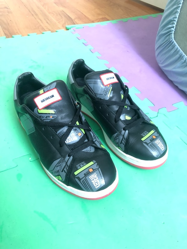 6e3d5d037 Brukt ICE CREAM BILLIONAIRE BOYS CLUB PHARRELL WILLIAMS US SIZE 11 2004 LTD  EDITION BLACK BEEPER FLAVOR til salgs i New York - letgo
