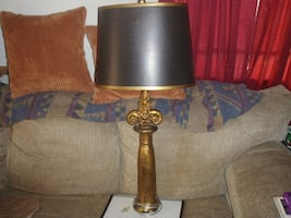 Custom  lamp/One solid branch/heavy/very--New Orleans  Saint