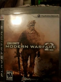 Call of Duty Modern Warfare 2 PS3 game case Dartmouth, B3A 4C5