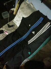black and white Adidas track pants Bakersfield, 93307