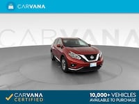 2018 *Nissan* *Murano* SV Sport Utility 4D suv Red Fort Myers
