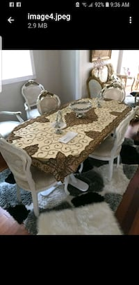 Elgant table with 6 chairs& coffer table & 2 side  Newmarket, L3Y 8V1